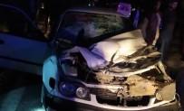 Şanlıurfa'da Otomobil Biçerdövere Çarptı Açıklaması 1 Ölü, 2 Yaralı
