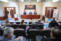 Tunceli'de Kadına Yönelik Şiddetle Mücadele Toplantısı