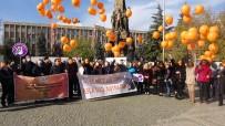 Uşak'ta Kadına Yönelik Şiddete Karşı Uluslararası Mücadele Günü Etk,Nleri