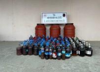 Nevşehir'de 1 Ton Kaçak İçki Ele Geçirildi