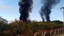 Balıkesir'de Turşu Fabrikasında Yangın Çıktı