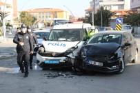 Cezaevinde İsyan Alarmına Giden Polis Ekibi Kaza Yaptı