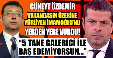 Cüneyt Özdemir vatandaşın üzerine yürüyen İmamoğlu'nu yerden yere vurdu!