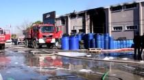 GÜNCELLEME - Balıkesir'de Turşu Fabrikasında Çıkan Yangın Kontrol Altında