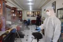 Burdur'da Kuaför Ve Berber Salonlarına Virüs Önlemi