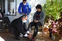 Engelli Çocuklara Mont Ve Bot Yardımı
