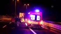 Adana'da Yolcu Otobüsü İle Tır Çarpıştı Açıklaması 4 Yaralı