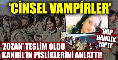 PKK'nın iğrenç yüzünü itiraf etti!