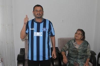 Cadde Ortasında Dövülen İşitme Engelli Cem'e Adana Demirspor'dan Jest