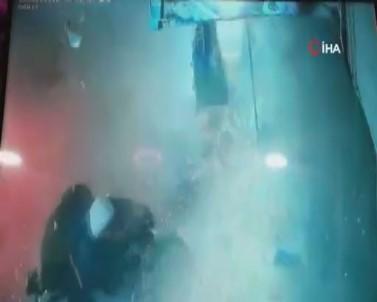 Cerablus'taki Bombalı Saldırı Anı Kamerada
