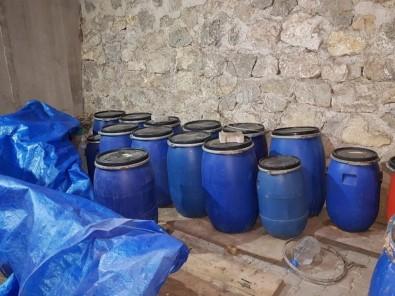 Çorum'da 'Kaçak İçki' Operasyonu Açıklaması Bin 863 Litre Ele Geçirildi