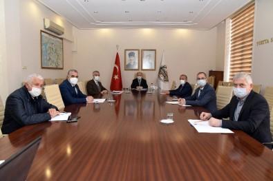 Esnaf Odası Başkanlarına Covid-19 Bilgilendirmesi