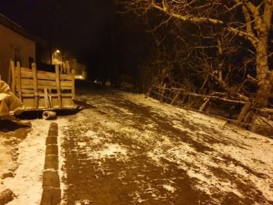 Kırklareli'de Kar