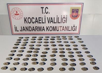 Kocaeli'de 100 Tarihi Sikke İle Yakalanan 7 Kişi Gözaltına Alındı