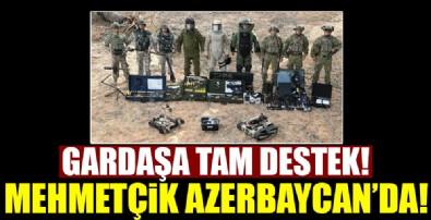 Mehmetçik Azerbaycan'da!