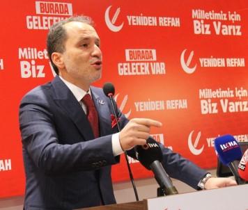 Yeniden Refah Partisi Genel Başkanı Erbakan Açıklaması