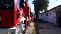 Burhaniye'de Kümes Yangını