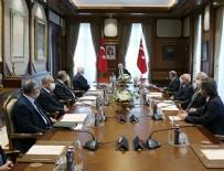 MEHMET ALI ŞAHIN - Cumhurbaşkanlığı Yüksek İstişare Kurulu toplantısı sonrası yazılı açıklama!