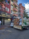 Edremit'te İzmir İçin Toplanan Yardım Kolileri Yola Çıktı