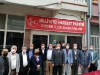 Erdek MHP'ye 'Hayırlı Olsun' Ziyareti