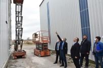 İnönü Belediyesi Fen İşleri Şantiyesi Genişliyor