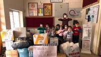 Ispartalı Miniklerden İzmir'e Yardım Eli