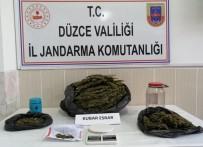 Jandarma Ekipleri 4 Kilo Uyuşturucu Yakaladı