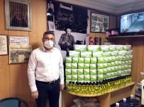 Kahveciler Odasından Üyelerine Maske Ve Kolonya Desteği
