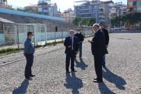 Salihli'de İsmail Doğan Erdinç Stadı Yenileniyor