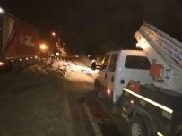 Yeşilhisar'daki Trafik Kazası Kayseri-Niğde Yolunu Etkiledi
