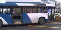 ZİYA GÖKALP - Ankara'da otobüsler çarpıştı! Çok sayıda yaralı var