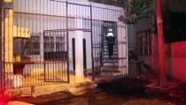 Adana'da Kundaklanan Evde Hasar Oluştu