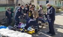 İki Motosiklet Kafa Kafaya Çarpıştı Açıklaması 1'İ Ağır 3 Yaralı