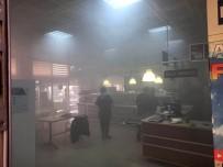 Edremit'te Tapu Dairesinin Bulunduğu Binada Yangın