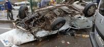 Altı Araç Birbirine Girdi Açıklaması 1 Ölü, 10 Yaralı