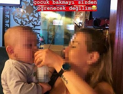 O görüntüler infial yaratmıştı! O anne bakın kendisini nasıl savundu!