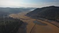 (Özel) Balıkesir'deki Çayören Barajı Kurudu