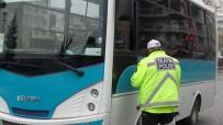 Uşak'ta Toplu Taşımalara Araçlarına Korona Denetimi