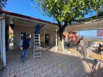 Burhaniye'de Köy Kahvehanesi Yenilendi