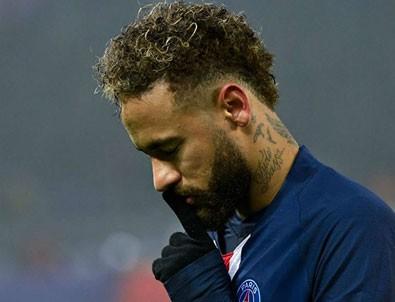 Neymar'dan Başakşehir maçı sonrası itiraf: 'Çok pişmanım!'