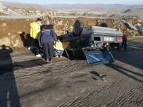 Yozgat'ta Trafik Kazası Açıklaması 1 Öğretmen Öldü, İki Öğretmen Yaralı
