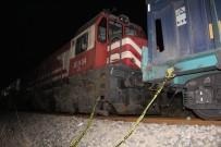 Yük Treninin Çarptığı Şahıs Ağır Yaralandı