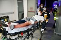 3 Yerinden Bıçakla Yaralandı, 'Bıçağın Üstüne Düştüm' Dedi