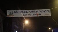 56 Saatlik Kısıtlamanın Başlamasıyla Sokaktaki Vatandaşlara İşlem Yapıldı