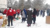 Kars'ta Kızılay İhtiyaç Sahiplerini Unutmadı