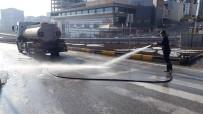 Kırıkkale Belediyesi Dezenfekte Ekibi Çalışmalarını Sürdürüyor
