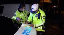 Polis Sahte Ehliyeti Fark Edince Alkollü Sürücü Kaçtı, Polis Kovaladı