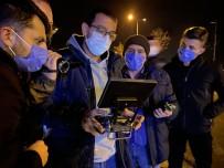 Uygulamadan Kaçan Araç Drone Takibi İle Yakalandı