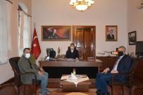 Kaymakam, CHP'li Belediye Başkanı Ve AK Parti İlçe Başkanı Edremit İçin Bir Araya Geldi