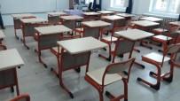 Vali Özkan, 11 Derslikli Okulun Masa Ve Sandalyelerini Yeniletti